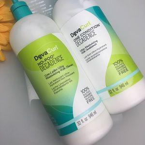 deva curl Other - Deva Curl One Condition & No-Poo 32 Oz